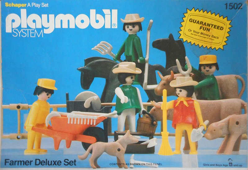 PLAYMOBIL retro farmáři