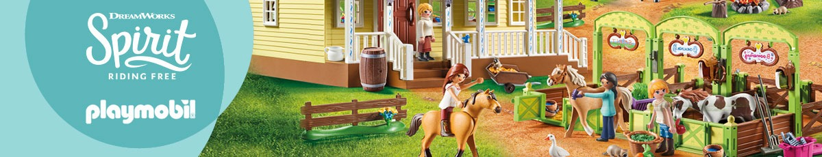 PLAYMOBIL Spirit: Riding Free